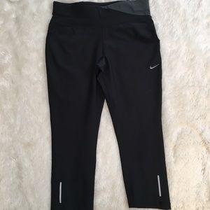 Nike Pants - Nike Dri Fit Twisty Crop Capri Yoga Running Small